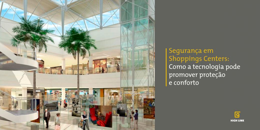 segurança em shoppings centers